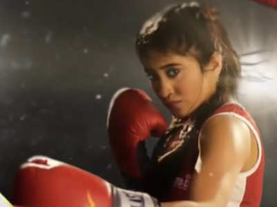 Shivangi makes a comeback as a boxer