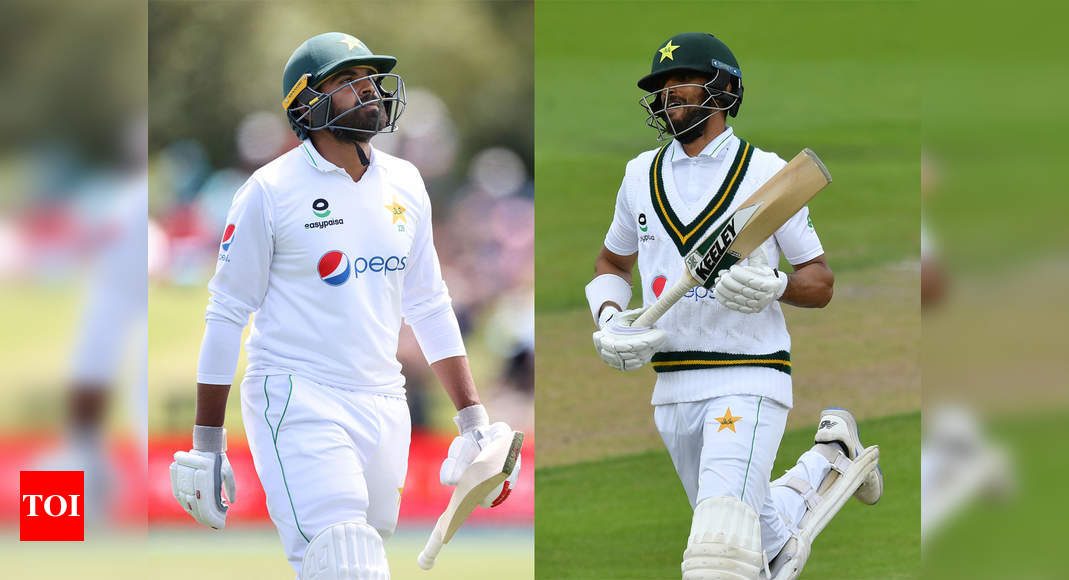 Shan Masood, Haris Sohail among six players dropped from Pakistan Test squad for South Africa series | Cricket News – Times of India