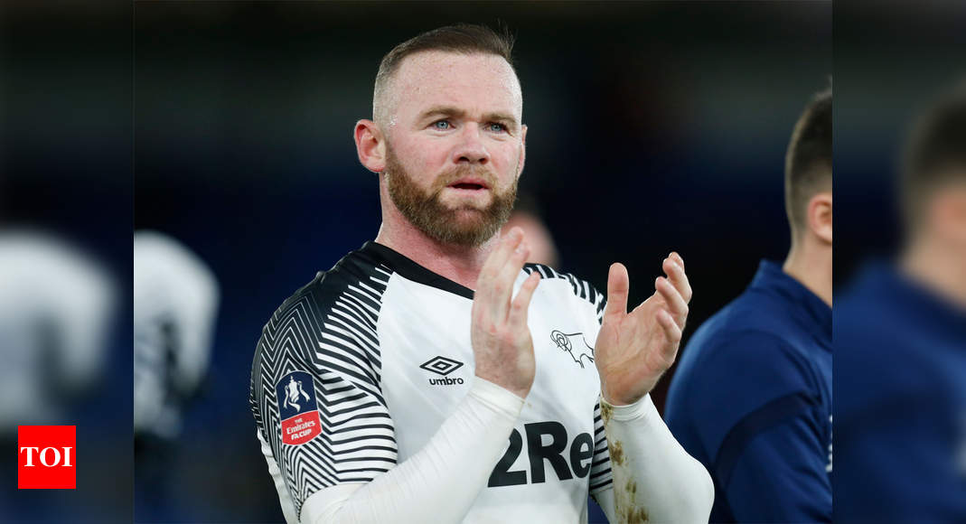 Wayne Rooney ends playing career to become Derby County manager | Football News – Times of India