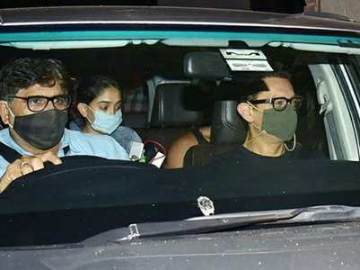Photos: Aamir gets snapped with daughter Ira