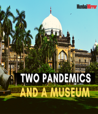 Two pandemics and a museum