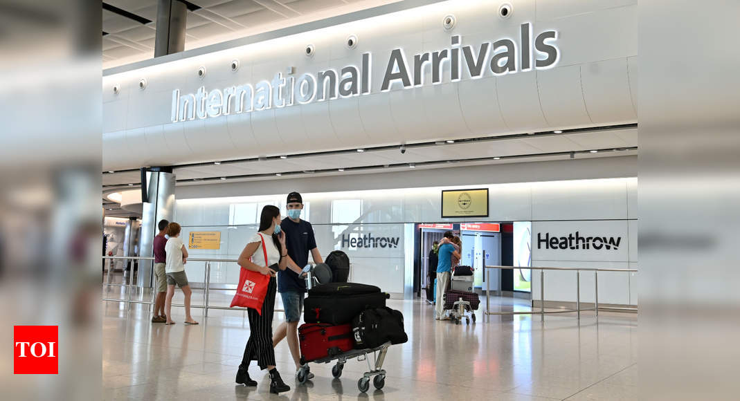 UK imposes travel ban amid worries of new Brazil variant – Times of India