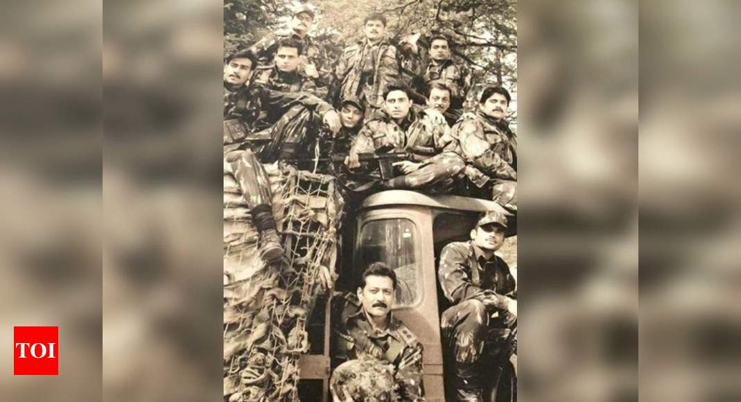 Suniel Shetty posts a throwback picture