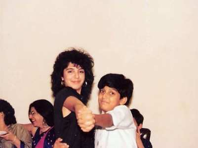 When Farah had a retro dance with cousin Farhan