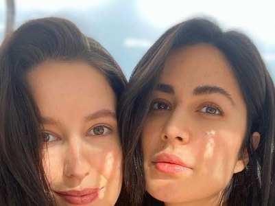 Katrina and Isabelle Kaif's mesmerising pics