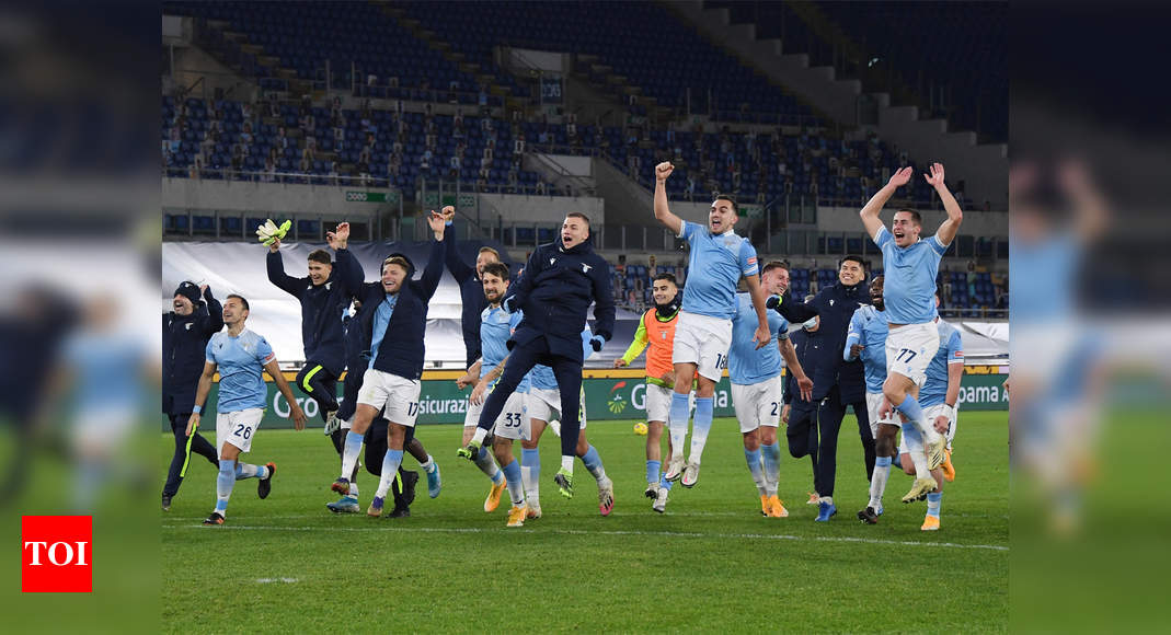 Lazio cruise past city rivals Roma in Serie A - Times of India