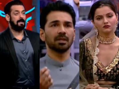 Salman Khan reprimands Abhinav Shukla