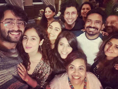 PICS: Shaheer-Ruchikaa party with Ekta Kapoor