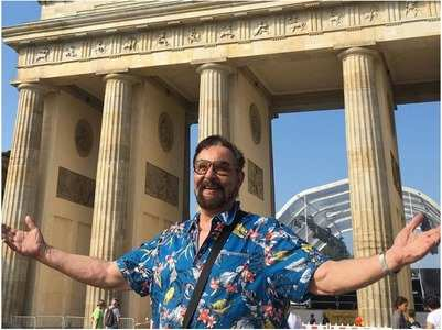 Kabir Bedi is busy writing a book on his life