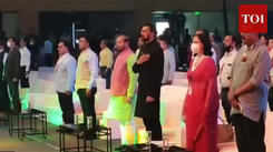 Dignitaries at International Film Festival of India opening  ceremony