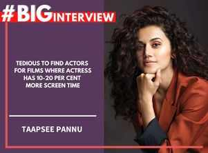 #BigInterview! Taapsee on movies & marriage