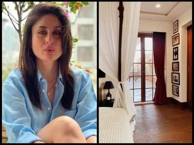 Kareena shares a glimpse of her new house