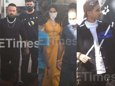 Exclusive pics- Madhuri, Dharmesh, Raghav