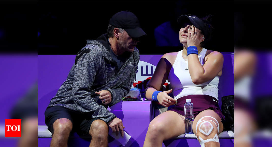 Andreescu's coach says he tested positive on Australian Open's Abu Dhabi flight | Tennis News – Times of India