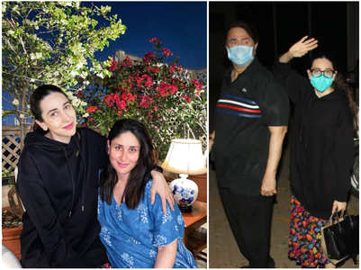 Karisma arrives; shares pic from sis's new home