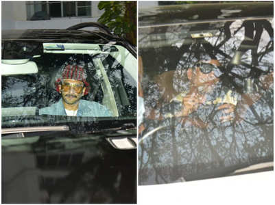 Photos: Ranveer-KJo spotted at Alia's house