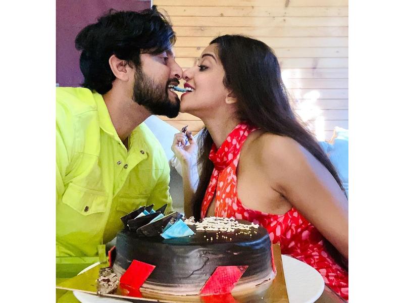 Photos: Monalisa and Vikrant Singh Rajput celebrate their fourth wedding anniversary