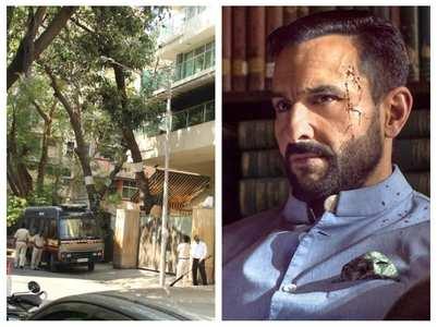 MLA files complaint against Saif's 'Tandav'