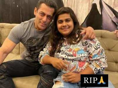 Salman mourns the death of Pista Dhakad