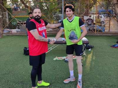 Ibrahim joins Ranbir & Kartik's football team