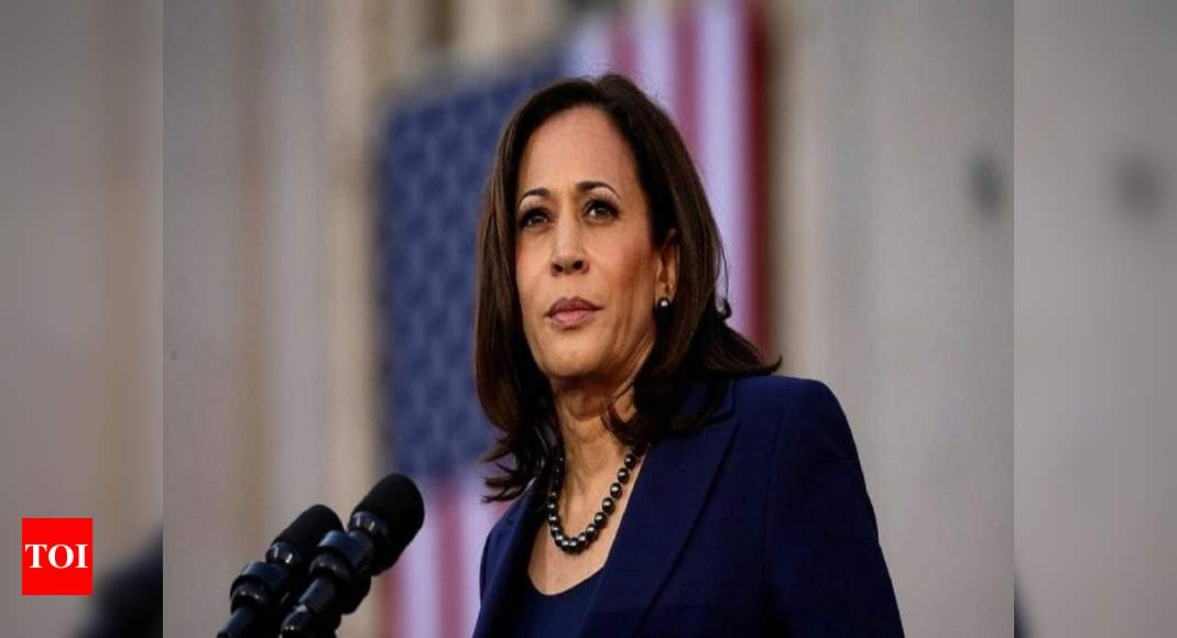 Vice President-elect Kamala Harris to resign her Senate seat Monday – Times of India