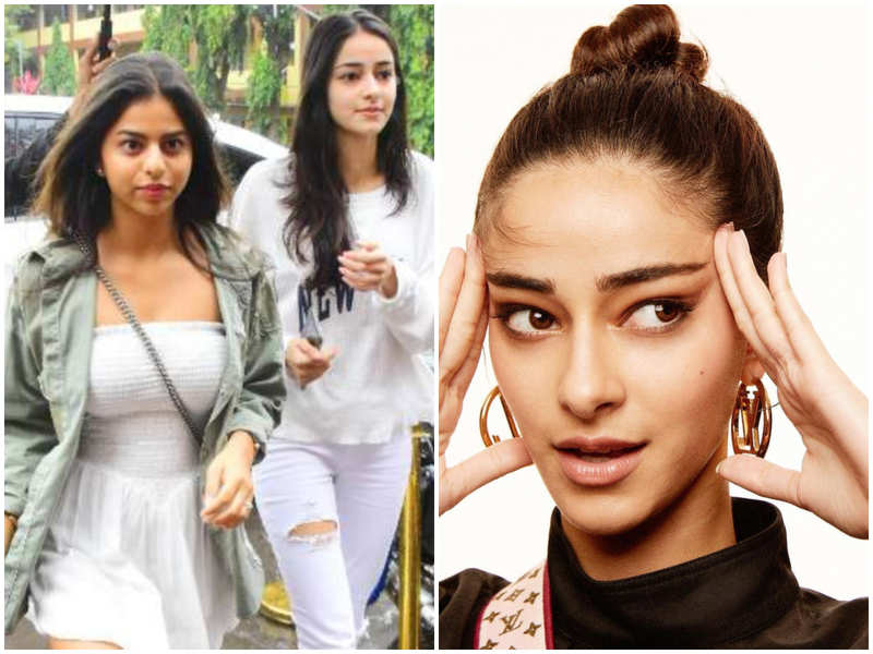 Ananya Panday makes an alluring style statement; Check out what bestie Suhana Khan has to say