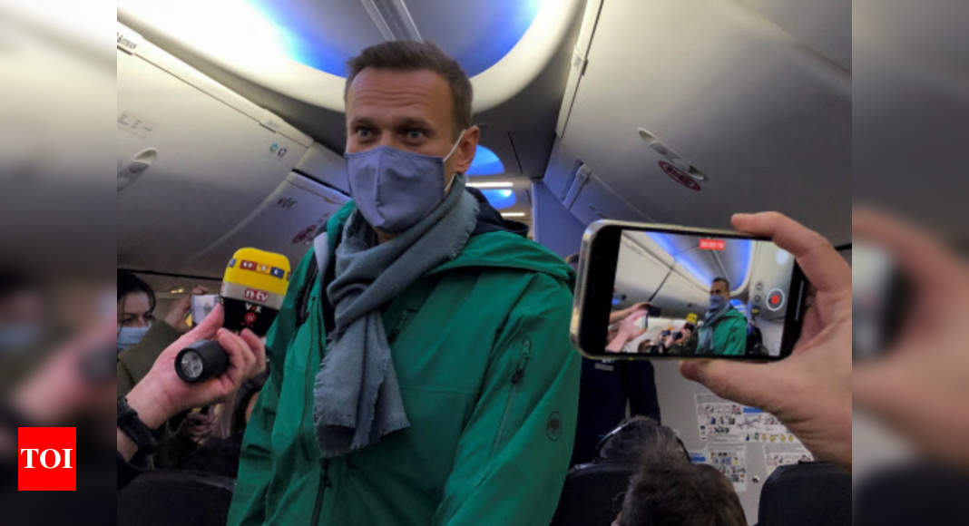 Kremlin critic Navalny's plane diverted to different Moscow airport