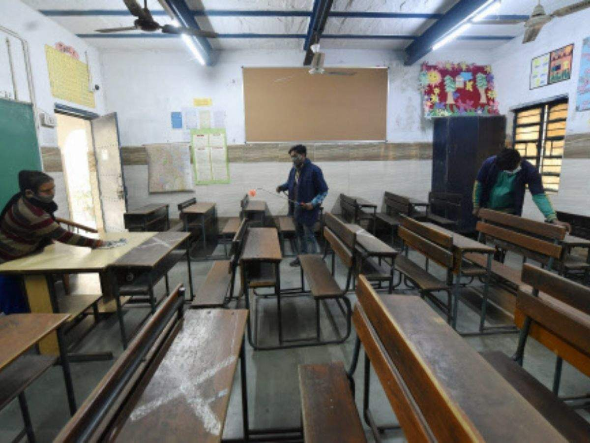 Delhi schools to reopen from Monday, parents still hesitant   Delhi News -  Times of India