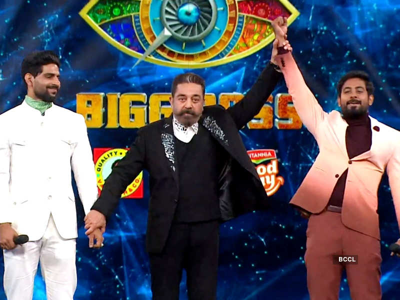 Bigg Boss Tamil 4 winner: Actor Aari Arjuna lifts the trophy