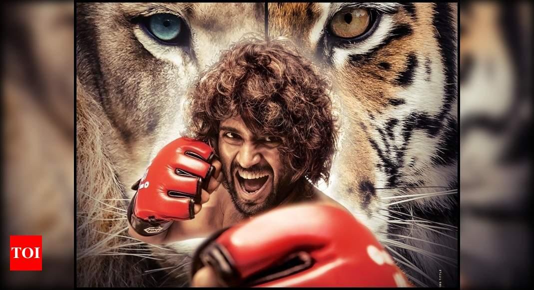 'Liger' first look: Karan Johar announces Vijay Deverakonda and Ananya Panday's film with an intriguing poster – Times of India