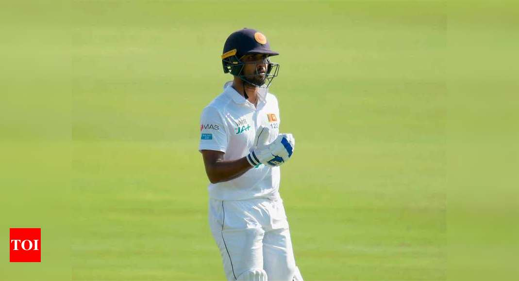 Dinesh Chandimal admits woeful batting cost Test | Cricket News – Times of India