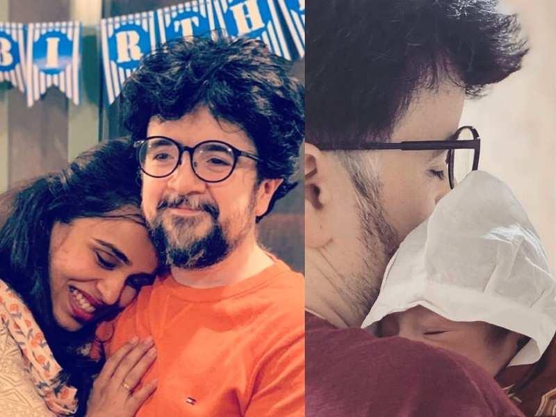 Nipun Dharmadhikari and wife Sanhita blessed with a baby girl
