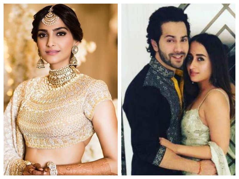 Will Sonam Kapoor miss attending her childhood friend Varun Dhawan's wedding with Natasha Dalal in Alibaug?