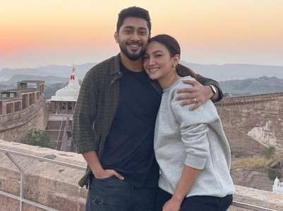 Gauahar and Zaid holiday in Udaipur