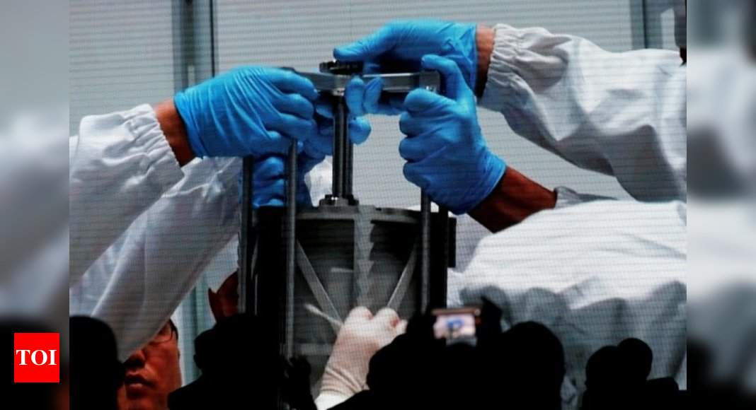 China's retrieved lunar samples weigh less than targeted – Times of India