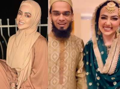 Sana Khan's appreciation post for husband
