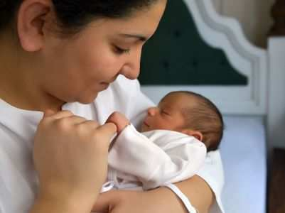 My COVID: I tested positive the day I delivered my baby