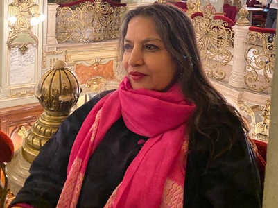 Shabana reminisces her near-fatal accident