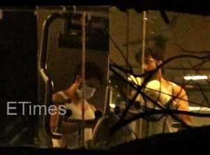 Photos: Varun pumps his muscles at the gym