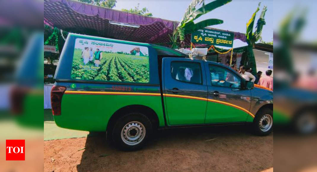 Agriculture department moots Krishi Sanjeevini vehicles for all raitha sampark kendras