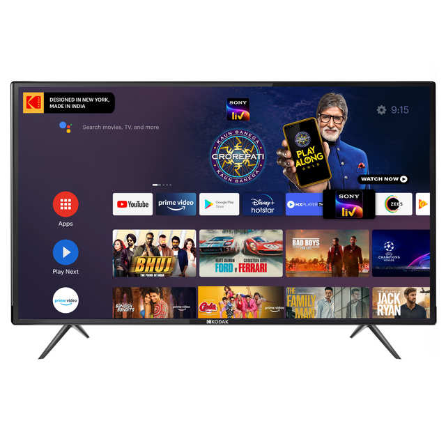 Kodak expands TV range, adds new 42-inch and 50-inch models