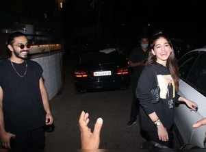 Pics: Alaya F with Aaishvary on a dinner date