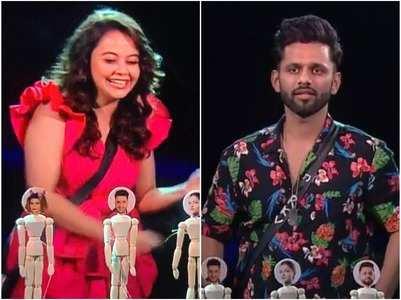 Devoleena tells Rahul he's not seen anymore