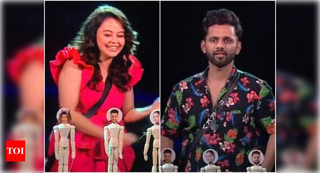 Bigg Boss 14: Devoleena Bhattacharjee enters the house; tells Rahul Vaidya 'if you are the king of BB, Ru - Times of India