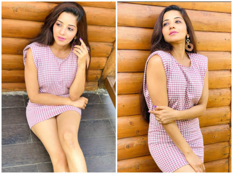 Monalisa's relaxing pictures will give you major vacay vibes