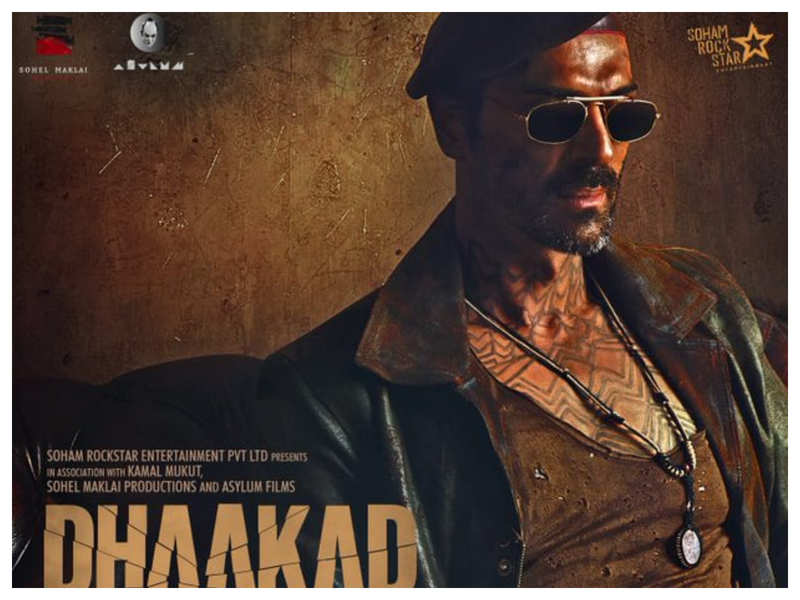 'Dhaakad': Arjun Rampal looks cool and deadly as 'Rudraveer' in the Kangana Ranaut starrer