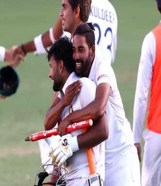 Pant guides India to historic, series-clinching win at Gabba