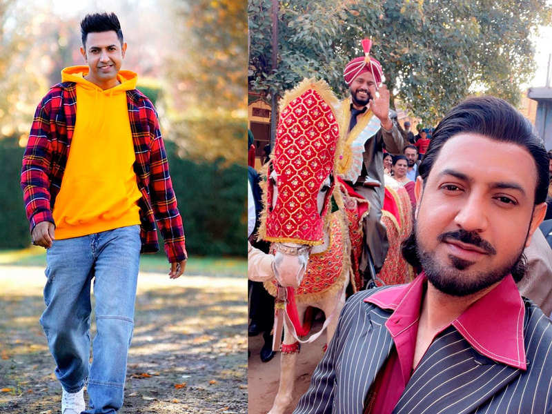 Gippy Grewal shares a BTS picture from 'Paani Ch Madhaani'