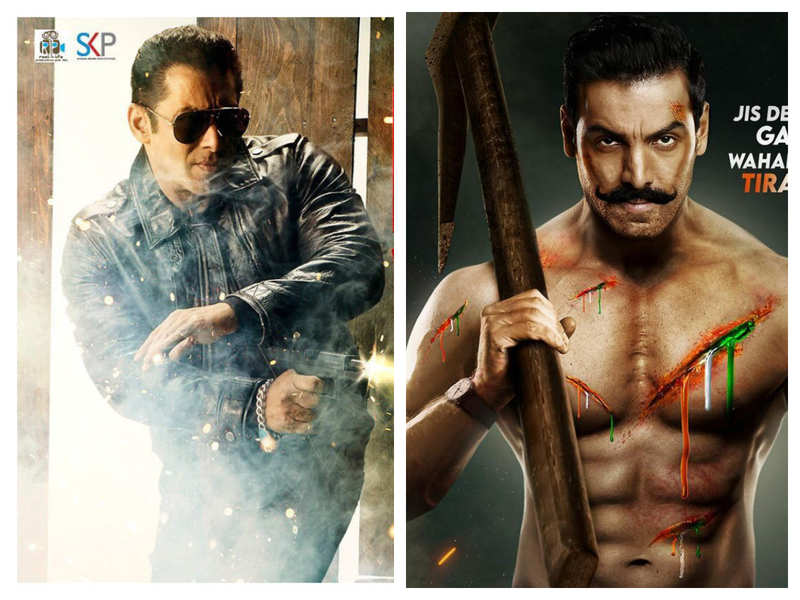 Salman Khan's 'Radhe: Your Most Wanted Bhai' to clash with John Abraham's 'Satyameva Jayate 2' at the box-office as they gear up for an Eid release