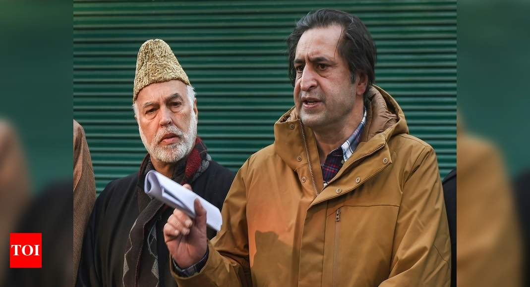 Sajad Lone's People's Conference quits PAGD
